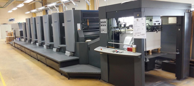 The Heidelberg Speedmaster CD 102
